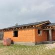 Ukončená hrubá stavba domu po 4 mesiacoch.