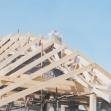 Realizácia krovu - drevená konštrukcia