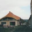 Krov s krytinou po ukončení
